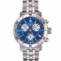 Relógio Tissot Prs 200 Prata Azul Original Lancamento 12x Sj