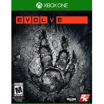 Evolve Xbox One - Edição De Pré Venda Com Linda Capa Externa