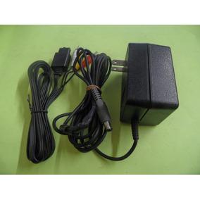 Kit Super Nintendo Fonte Orig 110v + Cabo Av Alt. Snes