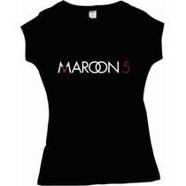 Playera Maroon 5 Varios Diseños Concierto Mexico