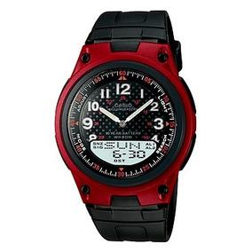 Reloj Análogo Digital Para Caballero Aw-80-4bv