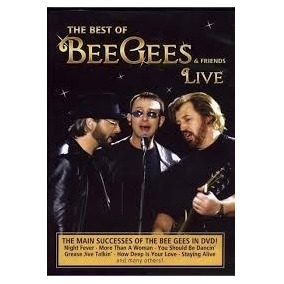 Dvd - The Best Of Bee Gees & Friends Live