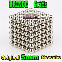 Neocube Cubo Magnético 216 Esferas 5mm Imã Neodímio