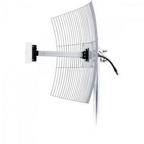 Antena Parabólica Para Internet 20dbi Mm-2420 Aquário