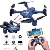 Mini Drone Rc Drone Autofoto Con Wifi Cámara Fpv Hd