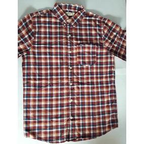 05f0ede4c7 Hollister Camisa Xadrez Original Importada Masculina Tam M