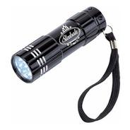 Linterna Led Power 9 Luces + Logo Grabado Laser Regalos