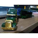 Caminhão Carreta Bau Palco Miniatura Escala 1/87 Nr. 770