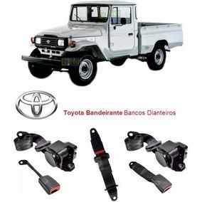 Kit Cintos Bancos Dianteiros De Segurança Toyota Bandeirante