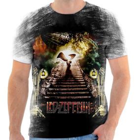 Camiseta De Banda De Rock Led Zeppelin - Camisetas e Blusas no ... 1ba7c514364d1