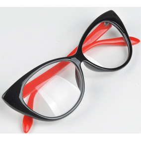 cc8cb1f122bee Armação Óculos Grau Acetato Gatinho Cat Eye 40% Off + Brinde · R  39 99