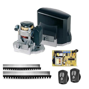 Kit Motor Portão Eletrônico Dz Unisystem Veloz Titan 1/4hp
