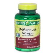 D-manosa D-mannose Salud Del Tracto Urinario 120 Caps Spring