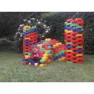 Combo Bloque Gigante Rectox75 + Curvox25- Juguetes Kids