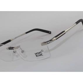 Armação Para Óculos De Grau Sem Aro Mont Blanc Grife Top