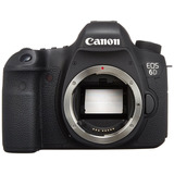 Canon Eos 6d 20.2 Mp Cmos Digital Slr Camera 3.0-inch Lcd