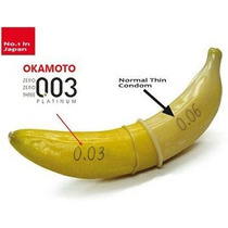 Camisinha | Preservativo | Sexo | Okamoto 0,03mm | 10 Un.