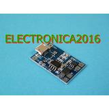 5v Micro Usb 1a 18650 Lithium Bateria Litio Cargador Modulo