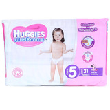 Pañal Huggies Ultraconfort Etapa 5 Para Niña