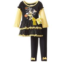 Conjunto Disney Niña Minnie Mouse, T 12 Meses. Envio Gratis