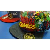 Gorras Dc Avenger Vengadores Comics Para Niños