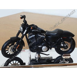 Moto Harley Davidson Sportster Iron 883 14 1:18 Maisto