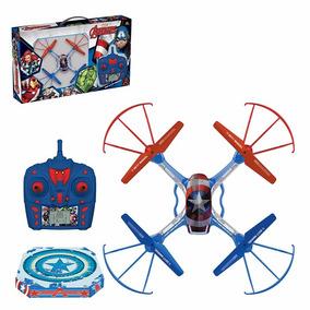 Quadricóptero Drone 4 Canais Recarregável Capitão America