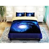 Lelva Galactic Cosmic Patrón Juegos De Cama, Ropa De Cama P