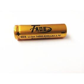 Bateria 3.7v Li-ion 14500 5200mah Recarregavel
