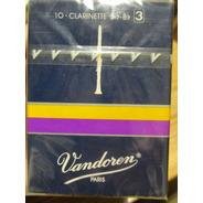 Cañas Vandoren Para Clarinete Sib N°3. Cr103. 5 Cajas X 10 U