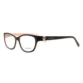7dbe746a29bd6 Armação Oculos Grau Feminino Tiffany 2095 Acetato Premium. R  69