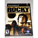 Rocky Legends Ps2 Nuevo Y Sellado De Fabrica Rarisimo