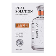 Real Solution Tencel Sheet Mask Total Care - Colágeno