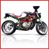 Escapamento Firetong Willymade - Mv Agusta Brutale 910 S / R