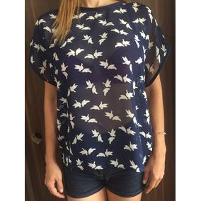 Blusa Camisa Dama Chifon Original Duckies