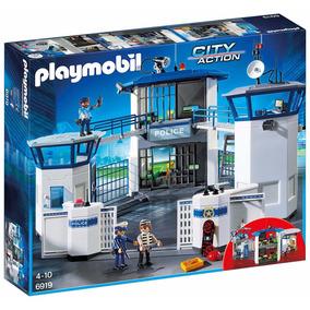 Playmobil Comisaria De Policia Con Carcel 6919 Action Edu