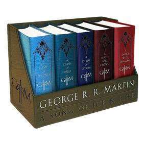 Game Of Thrones Deluxe - Juego De Tronos - Completo G Martin