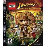 Lego Indiana Jones: The Original Adventures - Ps3 Mídia Físc