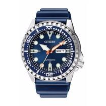 Relógio Citizen Aqualand Automático Nh8381-12l Japan Movemen