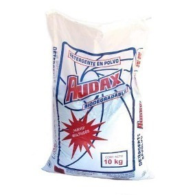 Bulto De 10 Kg Detergente En Polvo Audax