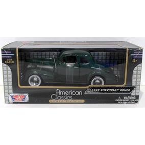 Chevrolet Coupe 1939 1:24 Motormax 73247-verde