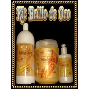 Kit Brillo De Oro Sin Sal Tres Productos Entrega Personal