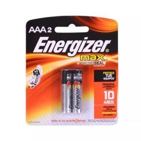 Pila Alcalina Energizer Max Aaa X 2