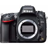 Nikon D610 Body 24,3mp Full Hd Full Frame Sup D7200 D7100