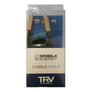 Cable Compatible Hdmi 3 Mts Full Hd 1080p 4k Premium
