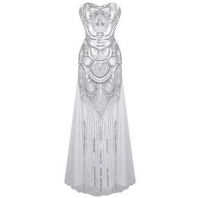 Vestido De Fiesta Mujer Glamour