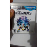 Epic Mickey 2 - The Power Of Two - Ps3 - Original Como Nuevo