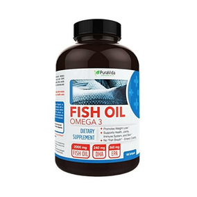 Puravida Organique Omega 3 Entérico Recubierto De Aceite De
