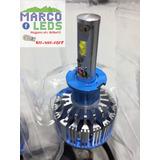 Par Luces Turbo Led Originales H3 35w 3600lm Blanco 6000k