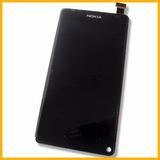 Modulo Pantalla Completa Nokia N9 Original Colocado